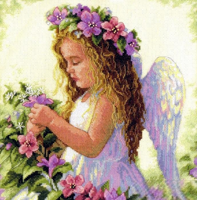 Вышивки крестом схемы бесплатно детки