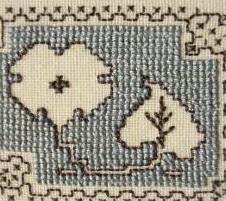 Ассизская техника вышивки