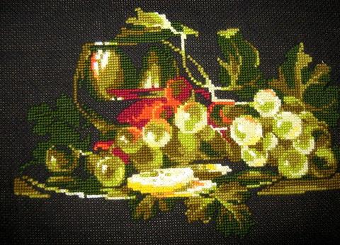 Схемы для вышивки цветные на канве