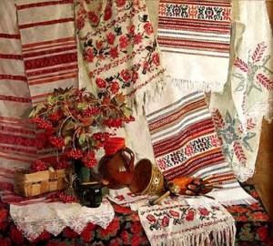Народная вышивка и древнерусские узоры