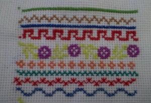 Декоративные швы для вышивки. Часть первая