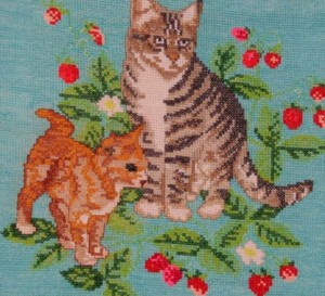 Принципы построения рисунка в вышивании