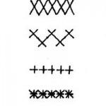 Шов «крест»