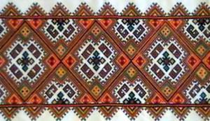 Узоры в народной вышивке