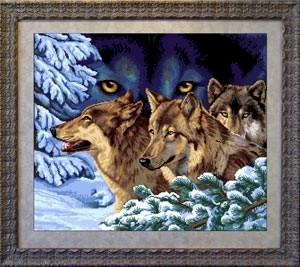 Схема Волчий взгляд