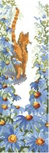 Схема Следуй за мной 2 (Кошка в цветах)