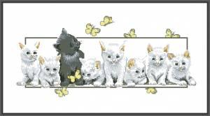 Схема Котята Butterfly Kittens