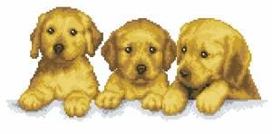 Схема Три щенка