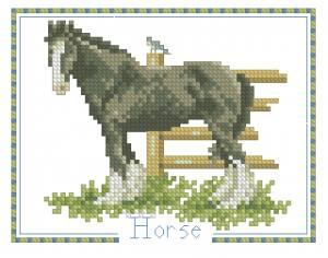Схема Лошадь