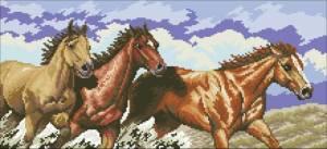 Схема Табун лошадей