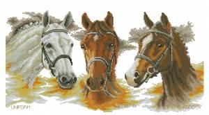 Схема Три лошади