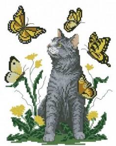 Схема Кот и бабочки
