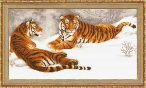 Схема Амурские тигры