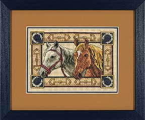 Схема Пара коней