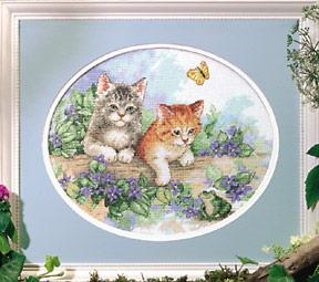 Схема Игривые котята