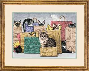 Схема Модные кошки