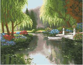 Схема Весенний Пруд
