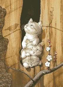 Схема Котята на охоте