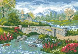 Схема летний пейзаж