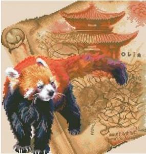 Схема Красная панда