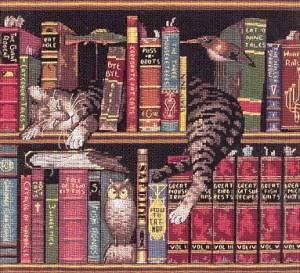 Схема Кот в библиотеке (Frederick the Literate)