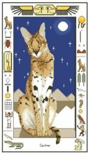 Схема Египетский кот