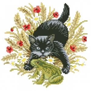 Схема Котик и лягушка