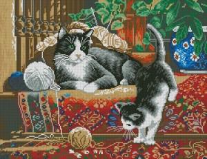 Схема Кошки на ковре