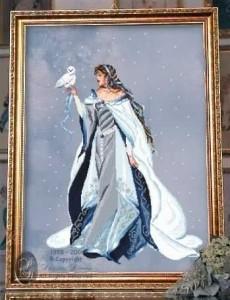 Схема Моя снежная Леди/My Lady of the Snow