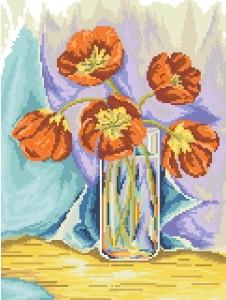Схема Тюльпаны в вазе