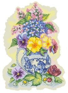 Схема Очаровательный цвет (Enchanting Blossoms)