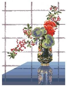 Схема Восточная ваза / Oriental Vase