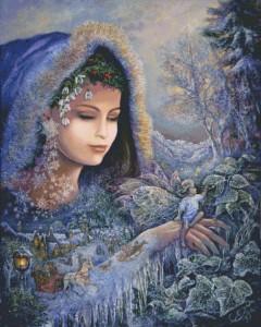 Схема Дух Зимы (Девушка Зима,Фея Зима)