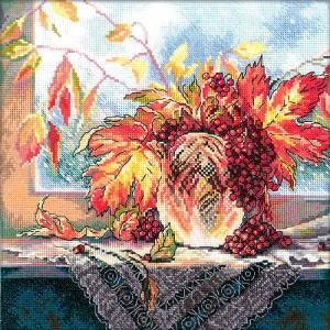 Схема Алые ягоды рябины