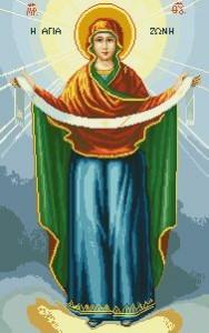 Схема Икона Покрова Пресвятой Богородицы