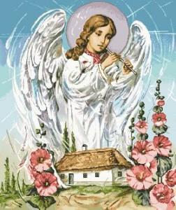 Схема Икона Ангел-хранитель по картине Охапкина
