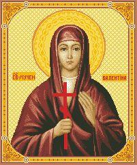 Схема Икона Св. Валентина