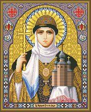 Схема Икона Святая Ольга