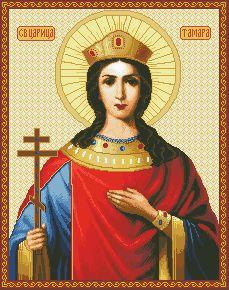 Схема Икона Святая Тамара