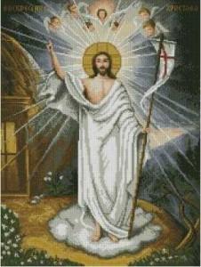 Схема Икона Воскресение