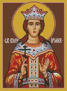 Схема Икона Св. Ирина