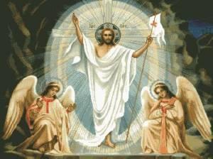 Схема Икона Воскрешение