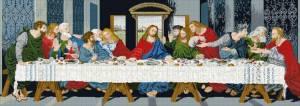 Схема Икона Тайная вечеря