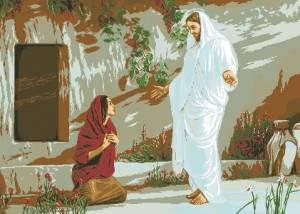 Схема Икона Иисус и Мария