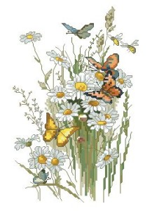 Схема Ромашки и бабочки