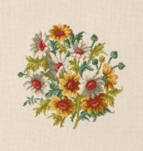 Схема Хризантемы / Wiehler 3673-5 Chrysanthemums