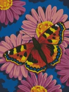 Схема Бабочка на цветах