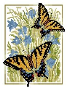 Схема Бабочки Адмирал