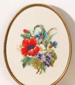 Схема Васильки с маками / Wiehler 3678-0 Cornflowers with Poppies
