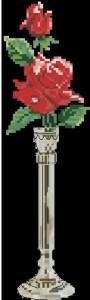 Схема Роза на черном фоне